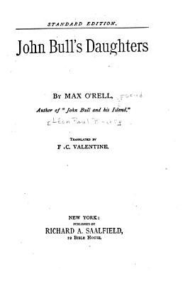 John Bull s Daughters