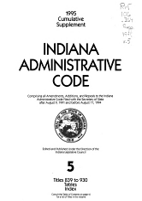Indiana Administrative Code PDF