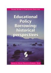 Educational Policy Borrowing: historical perspectives