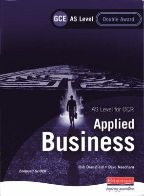 GCE AS Level Applied Business Double Award for OCR PDF