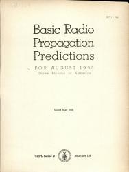 Basic Radio Propagation Predictions for     Three Months in Advance PDF