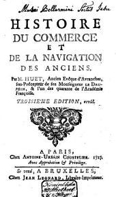 Histoire du commerce et de la navigation des Anciens