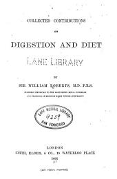 Collected Contributions on Digestion and Diet