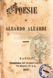 Poesie di Aleardo Aleardi
