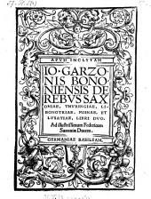 De rebus Saxoniae, Thuringiae, Libonotriae, Missniae, et Lusatiae, libri duo (etc.)