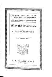 With the Immortals: Volume 1