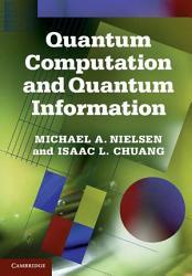 Quantum Computation And Quantum Information Book PDF