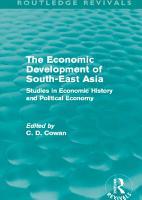 The Economic Development of South East Asia PDF
