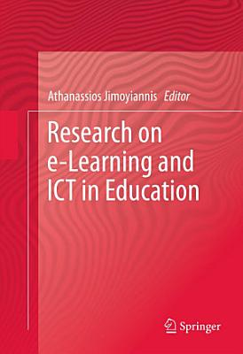 Research on e Learning and ICT in Education PDF