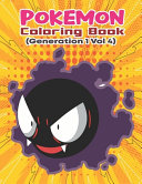 Pokemon Coloring Book (Generation 1 Vol 4)