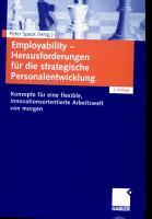 Employability   Herausforderungen f  r die strategische Personalentwicklung PDF