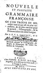 Nouvelle grammaire françoise