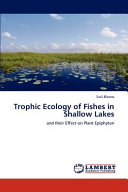 Trophic Ecology of Fishes in Shallow Lakes