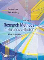Research Methods in Business Studies PDF