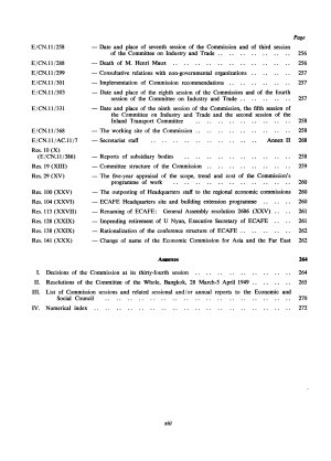 Index to Resolutions of the Economic and Social Commission for Asia and the Pacific  1947 1978 PDF