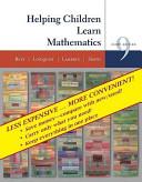 Helping Children Learn Mathematics  Ninthedition Binder Ready Version PDF