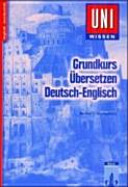 Grundkurs   bersetzen Deutsch Englisch PDF