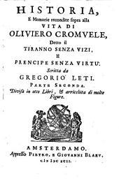 Historia e memorie recondite sopra alla vita di Oliviero Cromvele: Volume 2