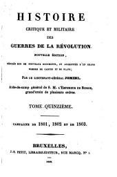 Histoire critique et militaire des guerres de la Révolution: Volume15