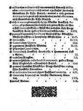 Artykulowé wsseobecného Sněmownjho Snessenj, které dne 9. Měsýce Prasýnce, 1716. Léta, w Sněmě weřegně přečtené, a dne 23. Měsýce Cžerwence 1717. Léta, v přitomnostj Wysoce Vrozeného Pána, Pana Jana Arnossta Ssaffgotsse, Sw: Ržjmské Ržjsse Hraběte z Kynastu a Greyffenssteynu, Pána na Kuntssycých, Sadowy, Bjlé Třemyssny, Zwikowě, Trnawech, Sobětěssý, Třesomycých, Dohalicých, Mžanech a Mokromausých, G° Cýsařské Mil: Tegné Raddy, Komornjka, Král: Mjstodržjcýho, a Neywyšssýho Sudj w Králowstwj Cžeském, [et]c. Též Wysoce Vrozeného Pána, Pana Giřjho Bernarda Wratislawa, Swaté Ržjmské Ržjsse Hraběte z Mytrowic, Pána na Lochowicých, Bezděgicých, a Želkowicých, G° Mil: Cýsařské Tegné Raddy, a Král. Mjstodržjcýho, [et]c. Neméně Vrozeného a Statečného Rytjře, Pana Petra Mikulásse Straky z Nedabilic, na Podhořanech, Hostačowě, a Wruticý, G° Mil: Cýs: Raddy, Saudce Zemského, Král: Mjstodržjcýho, a Neywyšssýho Pjsaře w Králowstwj Cžeském; Gakožto k tomu wsseobecnému Sněmu zřjzených Wysocewzáctných Král: Commisařůw, odewssech Cžtyr Stawůw toho Králowstwj Cžeského zawřené, a publicirowané gsau byli