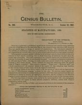 Census Bulletin: Issue 238; Issue 280