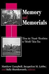 Memory and Memorials Book