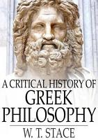A Critical History of Greek Philosophy PDF