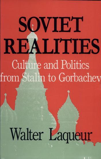 Soviet Realities PDF