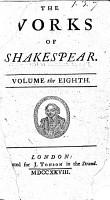 Works of William Shakespeare PDF