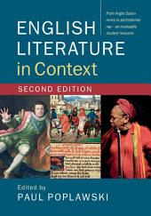 English Literature in Context: Edition 2