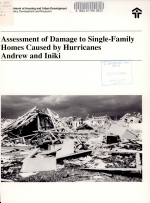 Assessment of Damage to Single-family Homes Caused by Hurricanes Andrew and Iniki