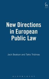 New Directions in European Public Law