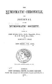 The Numismatic Chronicle: Volume 18