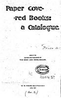 Paper Covered Books PDF