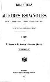 Obras de Nicolás y Leandro Fernández de Moratín