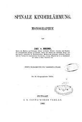 Spinale Kinderlähmung: Monographie