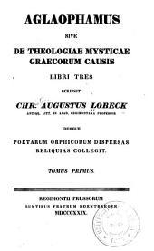 Aglaophamus; sive: Volume 1
