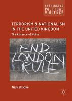 Terrorism and Nationalism in the United Kingdom PDF