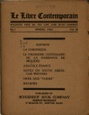 Download Le Livre Contemporain Book