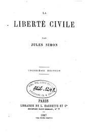 La liberté civile