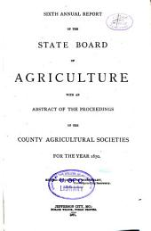 The Missouri Yearbook of Agriculture: Annual Report, Volume 6