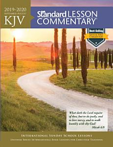KJV Standard Lesson Commentary   2019 2020 Book