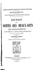 Réunion des sociétés des beaux-arts des départements ...: Volume17