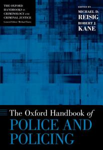 The Oxford Handbook of Police and Policing Book