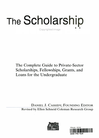 The Scholarship Book PDF