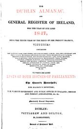 The Dublin almanac, and general register of Ireland, for 1847