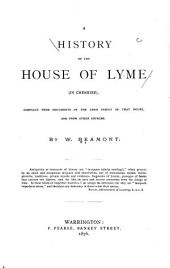 A History of the House of Lyme (in Cheshire)