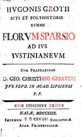 Florum sparsio ad ius Iustinianeum