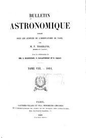 Bulletin astronomique: Volume 8