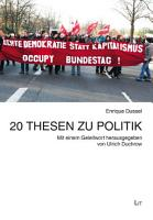 20 Thesen zu Politik PDF